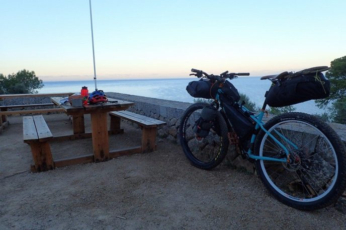 menorca sunrise bikepacking
